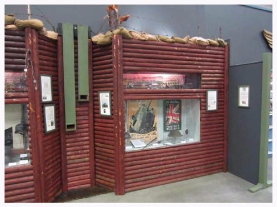 world war I exhibit