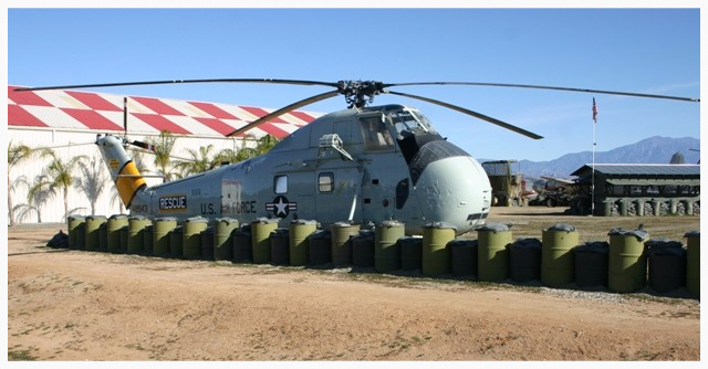 March Field Air Museum In Riverside, CA - HH-34J Choctaw