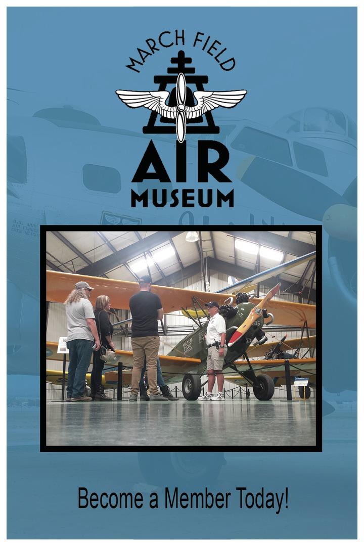 March Field Air Museum In Riverside, CA - Membership